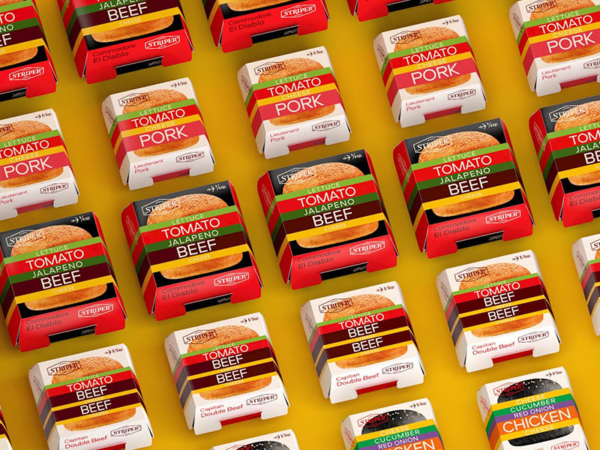 packaging per hamburger