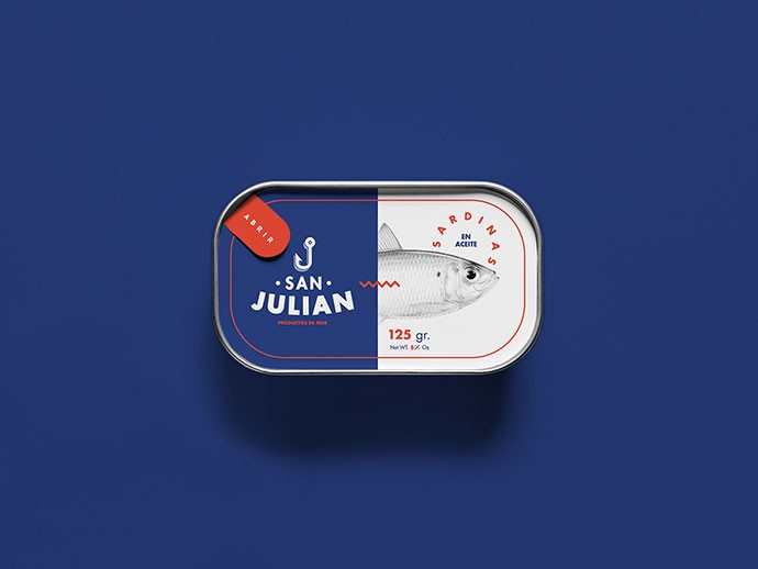 packaging per sardine