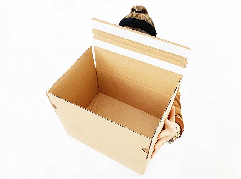 GoBox: scatola doppia chiusura per i resi