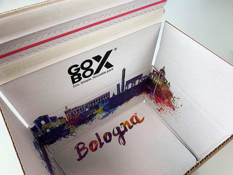scatola per ecommerce personalizzabile