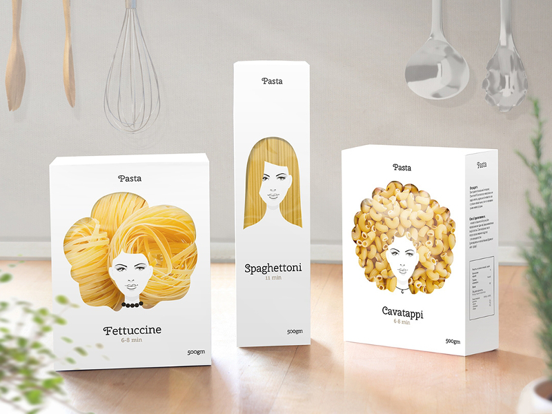packaging alimentare pasta