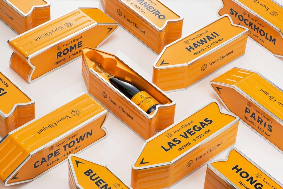 packaging particolari champagne